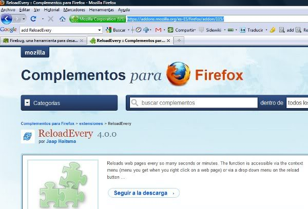 complemento firefox